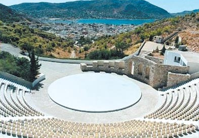 The Euripides Theater first opened on Salamina in 1993. It seats some 3,000 and hosts a variety of events throughout the year, including plays, concerts and cultural events.