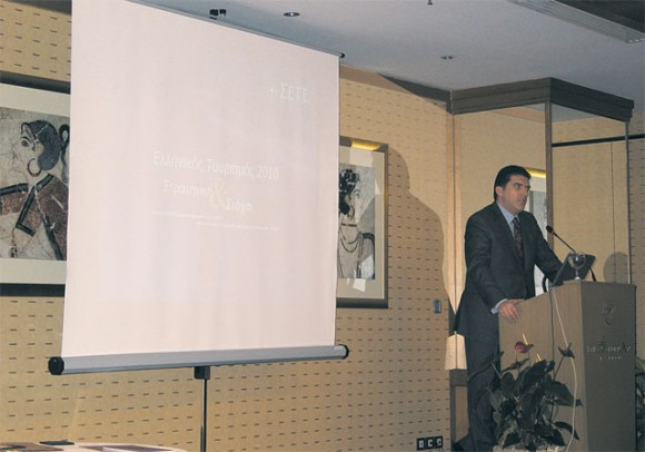 Georgos Dracopoulos, general manager of the Association of Greek Tourism Enterprises.