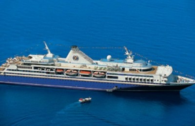Latest press reports say Royal Olympia Cruises, Greece's only international player in the sector, has been forced by creditors to auction off its two star vessels, Olympia Voyager (launched June, 2000) and Olympia Explorer (launched April, 2002).