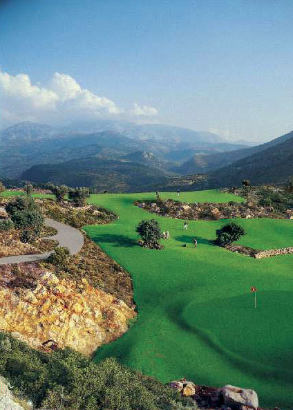 Greece's newest golf course on the island of Crete.