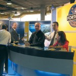 Although a good number of consumers stopped by the ForthCRS stand to check it our and see what it offered, specialists on the stand mostly welcomed professionals interested to learn more on ferry booking possibilities through their offices.