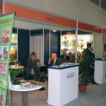 Just an example of the old and mundane stands rented by Greek exhibitors from the Hellenic Tourism Organization.