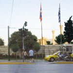The city of Athens has created ramps for all of the central city walkways and pedestrian crosswalks and their now synchronized pedestrian traffic lights.