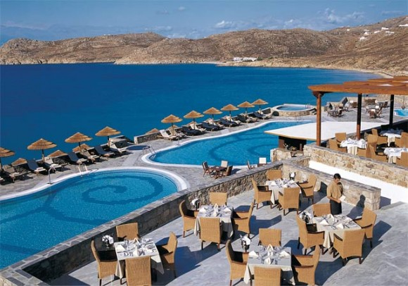 "Myconian Imperial Resort & Thalasso Center of the Myconian Collection group of hotels on Mykonos are now one of the 400 prestigious members of ""The Leading Hotels of the World."""