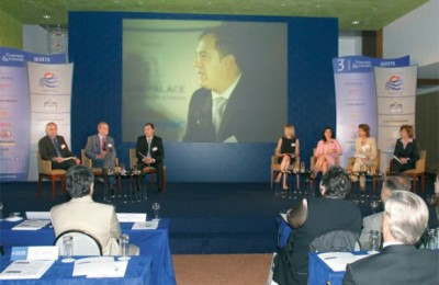 An open panel discussion with some of Europe's top travel business journalists got the recent tourism conference organized by the Association of Greek Tourism Enterprises off to a promising start.