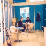 Agora Travel stand at ITB 2003.