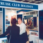 Cruise Club Holidays stand at ITB 2003.