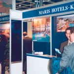 Maris Hotels - Crete stand at ITB 2003.