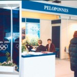 Peloponessos Region stand at ITB 2003.