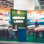Minoan Lines stand at ITB 2003.