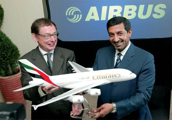 The latest Emirates' deal involves the purchase of 71 new passenger jets.
