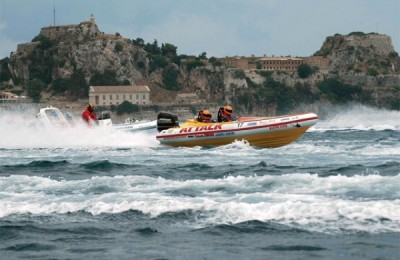 Corfu Hosted Inflatable Boat Races