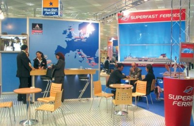 Attica Holdings' subsidiaries Blue Star and Superfast during recent exhibition.