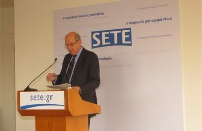 SETE President Nikos Angelopoulos