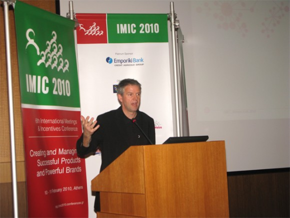 "Of particular interest was the presentation by Padraig Cilligan of Ovation Global DMC who informed the audience that a crisis ""is not necessarily a bad thing."""