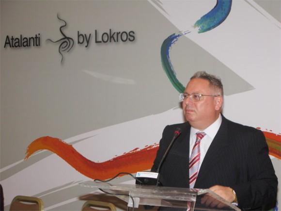 Lokros representative, Yiorgos Savvidis