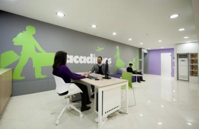 Acadimos Holiadys' new branch office at Nea Erythrea.